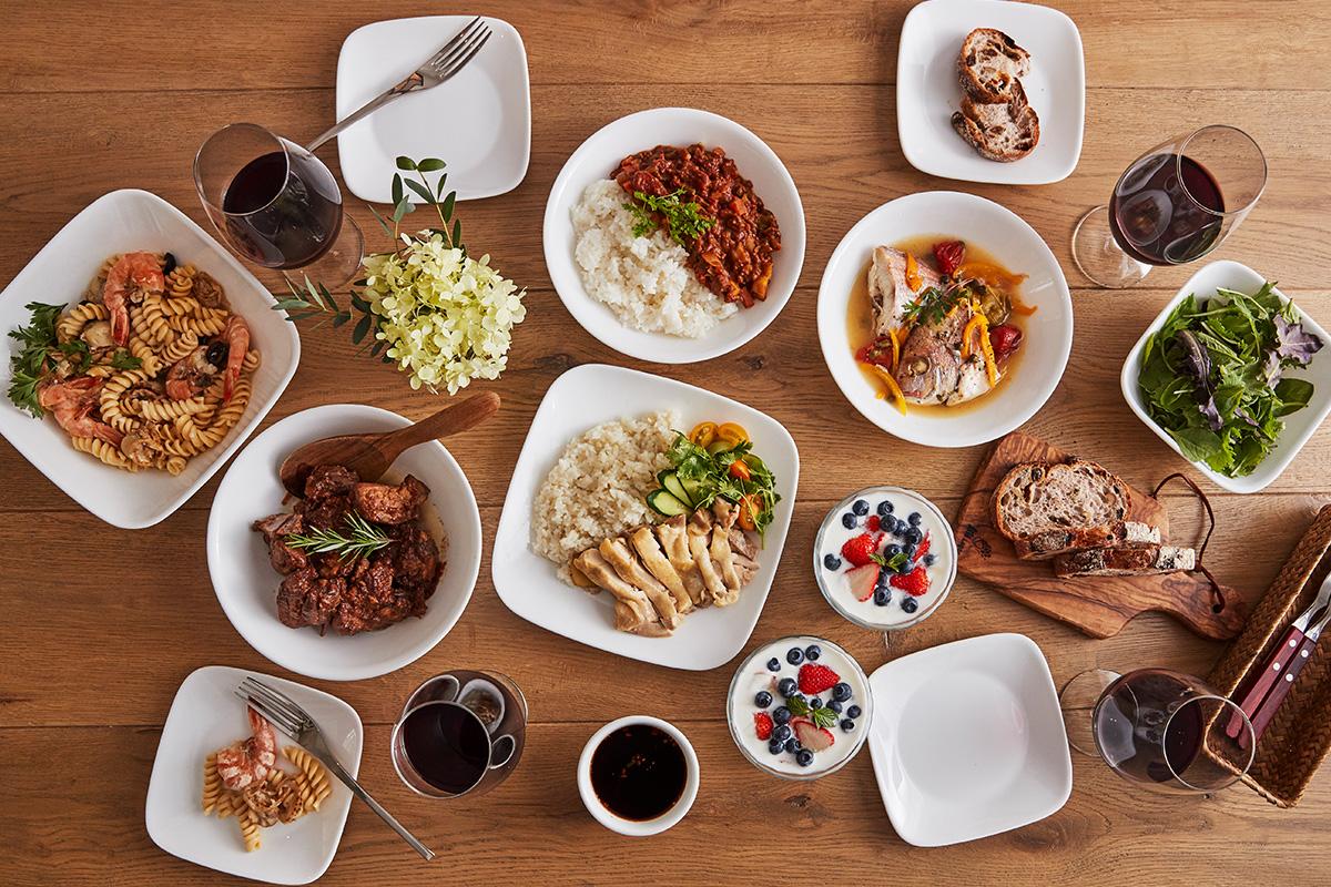7つの料理