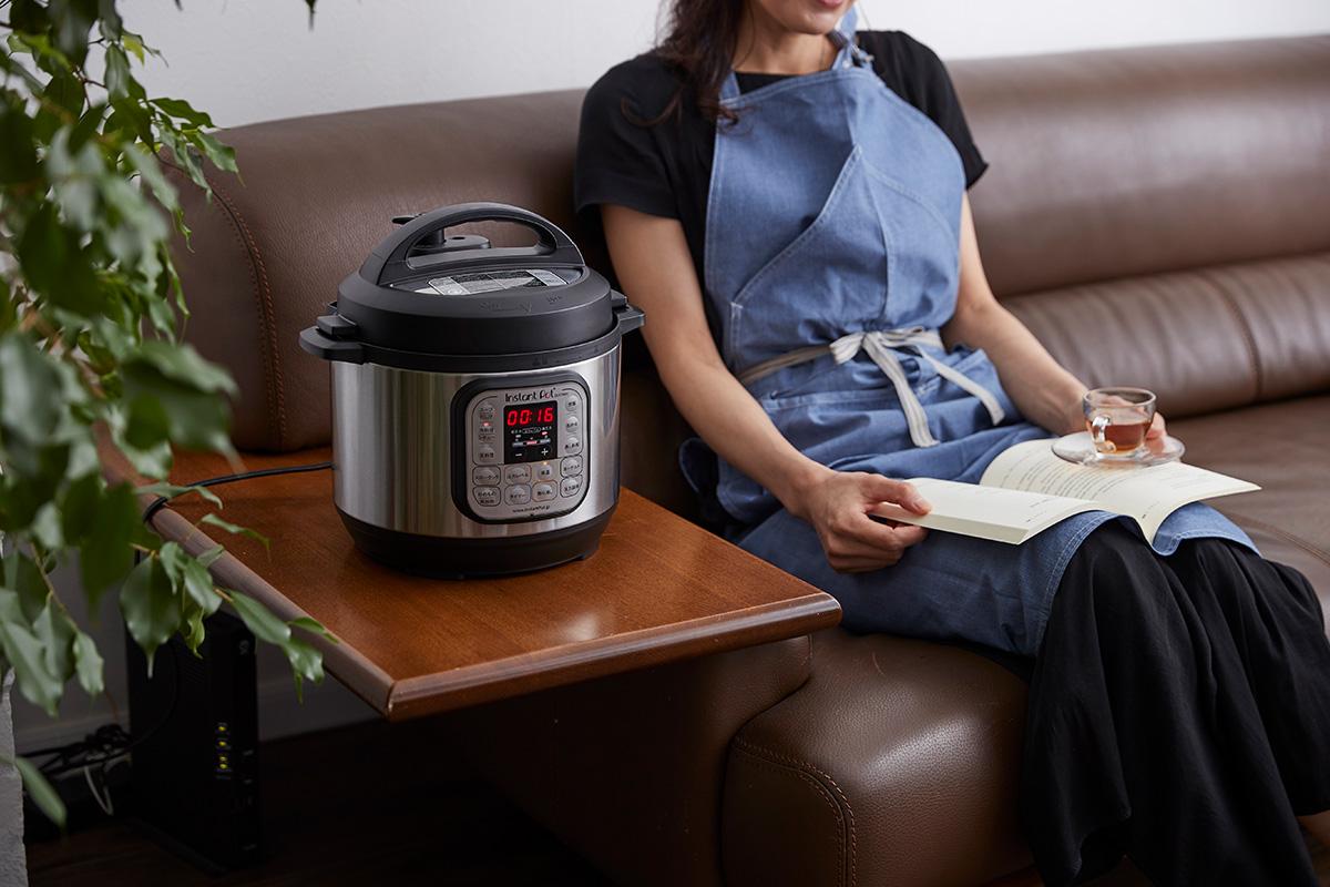 電気圧力鍋の自動調理