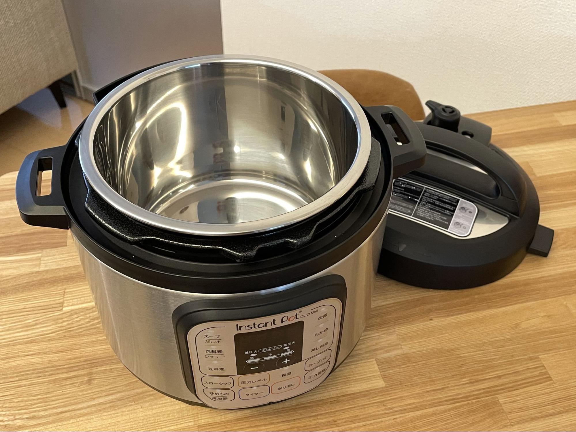 電気圧力鍋のパーツ